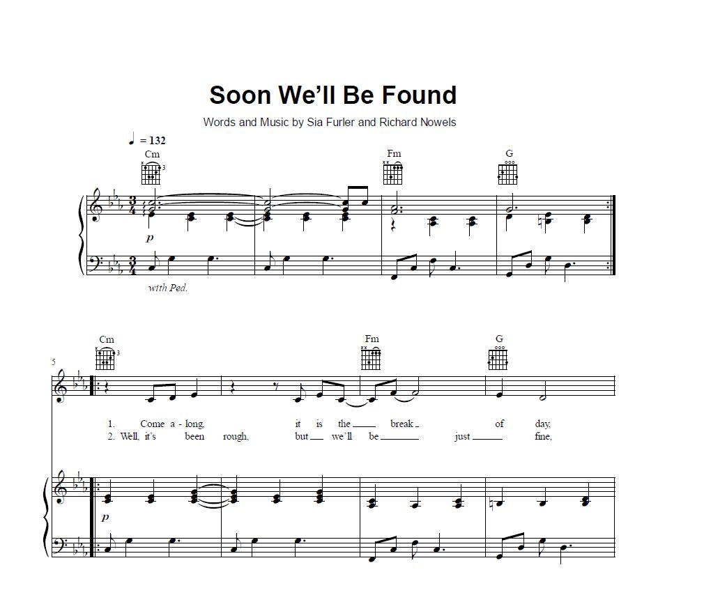 Piano Sheet Music Midi: Sia [Sheet & Midi Download